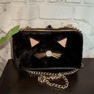 Kate Spade black cat marigold bag